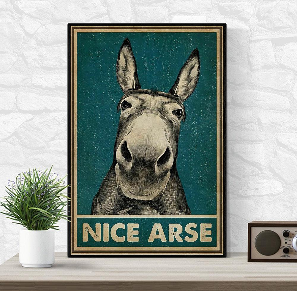 Donkey nice arse vertical poster