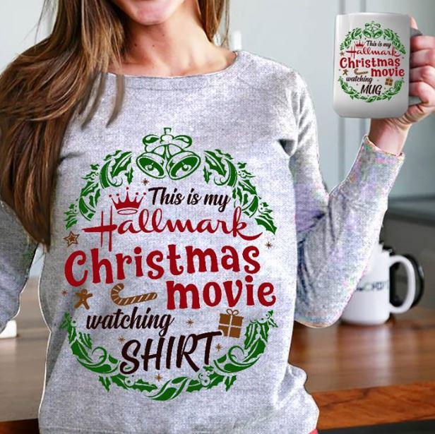 This is my Hallmark Christmas movie watching house shirt