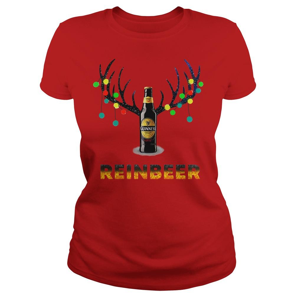 Guinness Reindeer Christmas shirt