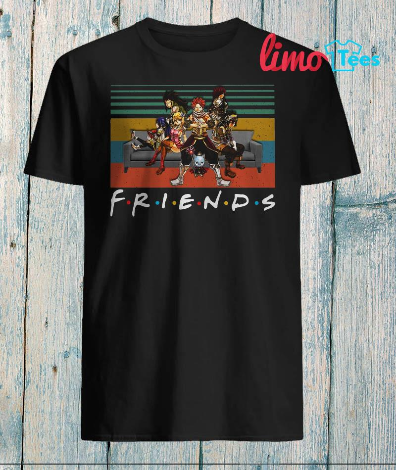 Friends tv show Anime Crossover shirt