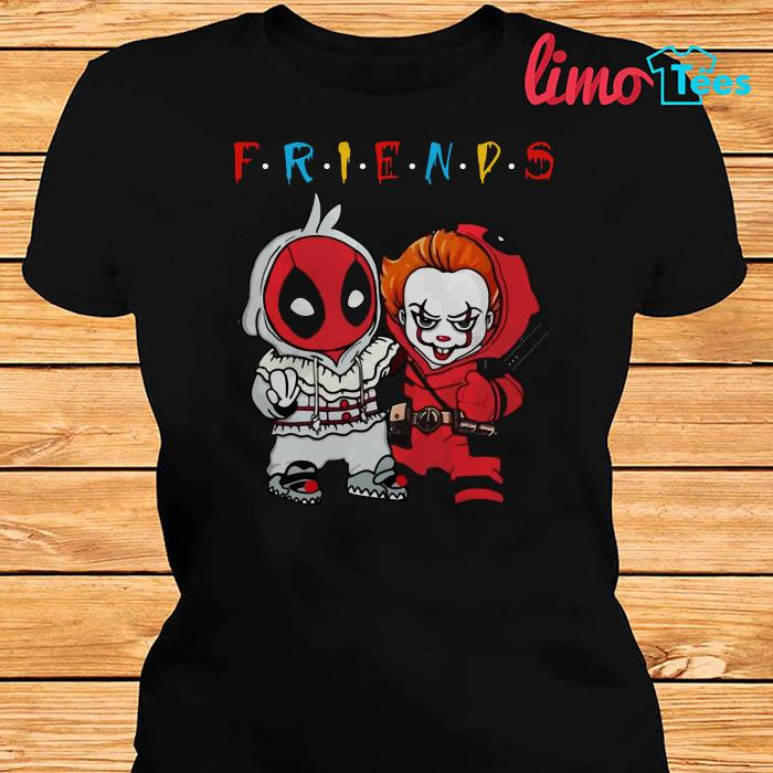 Spiderman Pennywise friends shirt