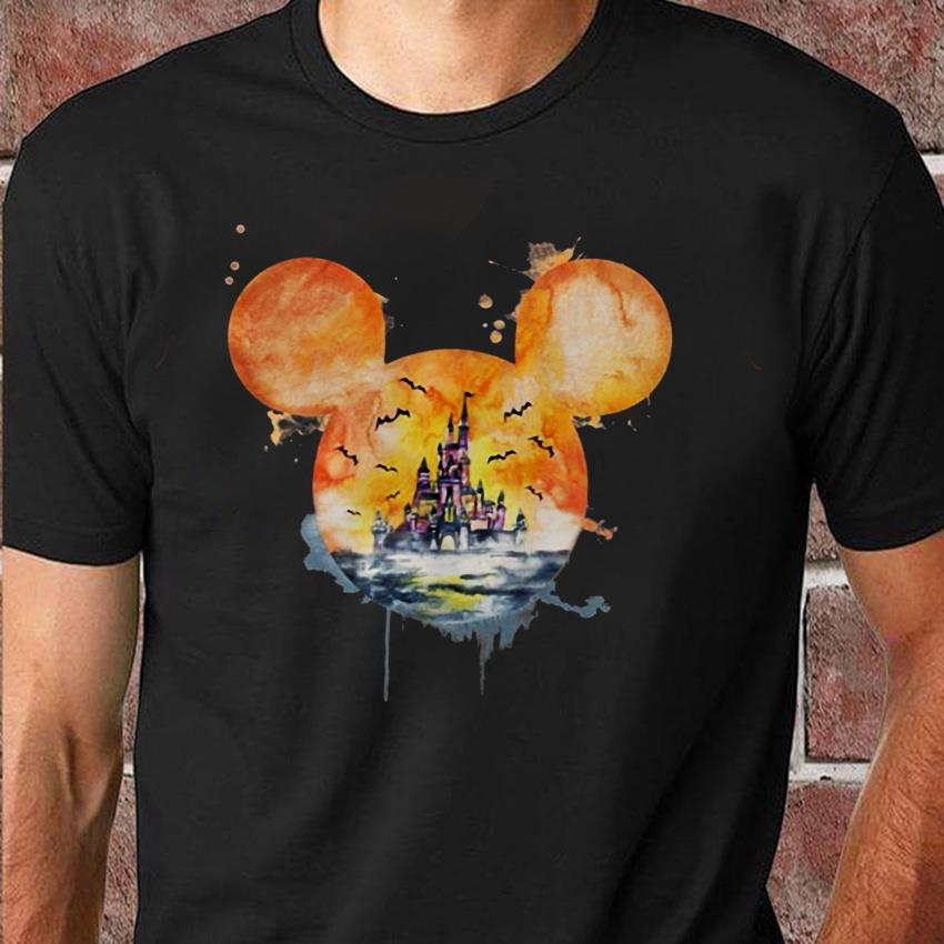 Disneyland the scariest place on earth Halloween unisex shirt