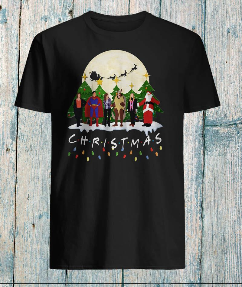 Friends Christmas the one with halloween party t-shirt