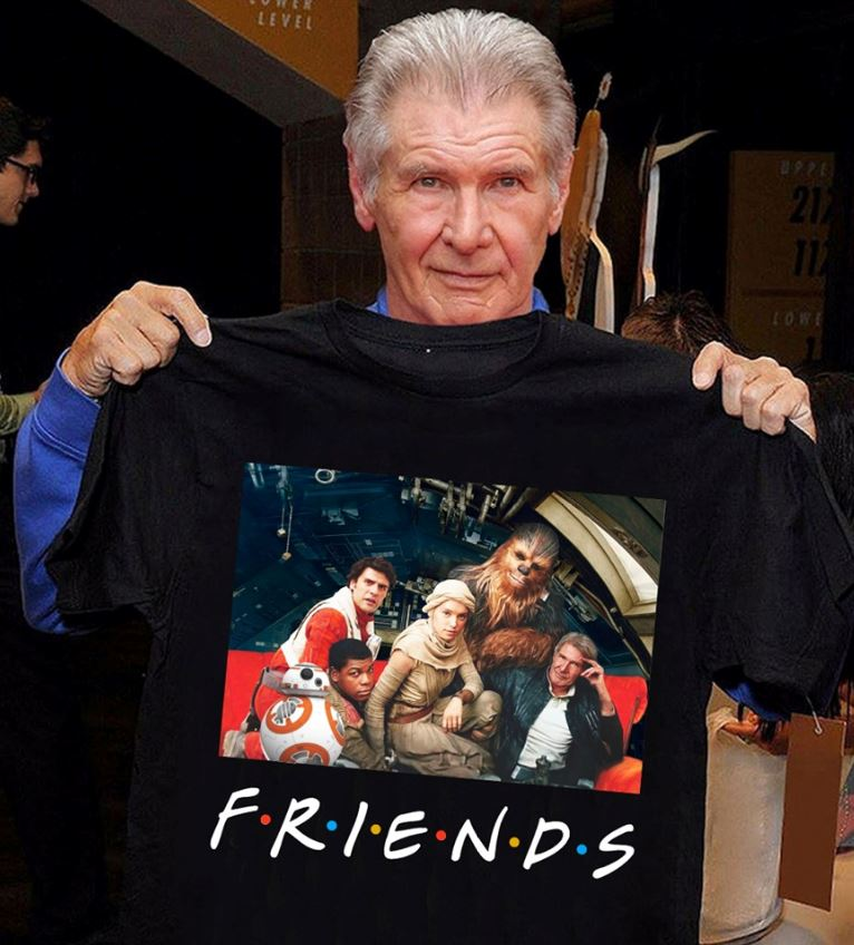 Star Wars Friends t-shirt