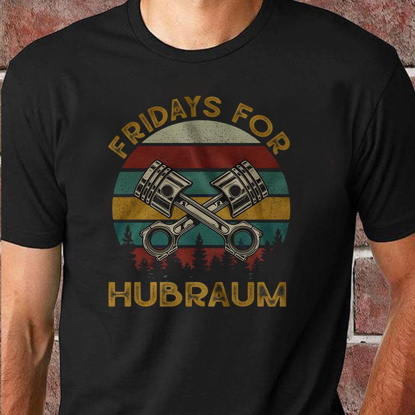 Fridays for Hubraum retro vintage unisex shirt