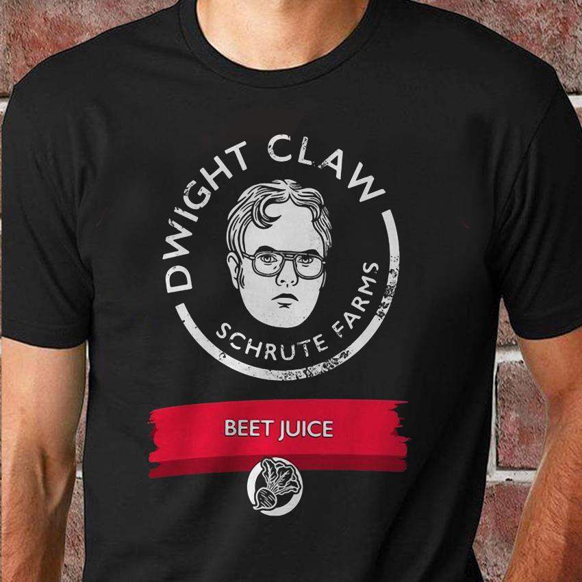 Dwight Schrute farms beet juice unisex t-shirt