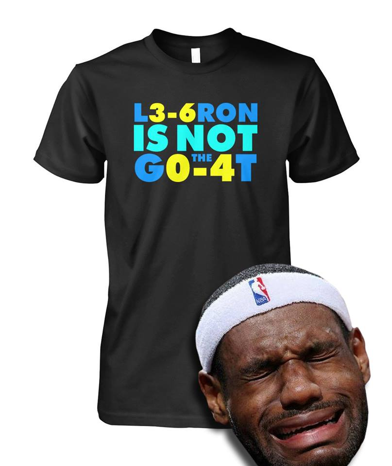 Goats don't get swept once let alone twice NBA shirt