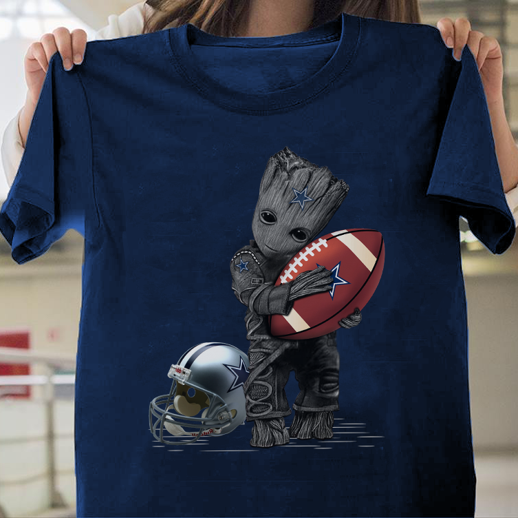 Groot hug Dallas Cowboys shirt