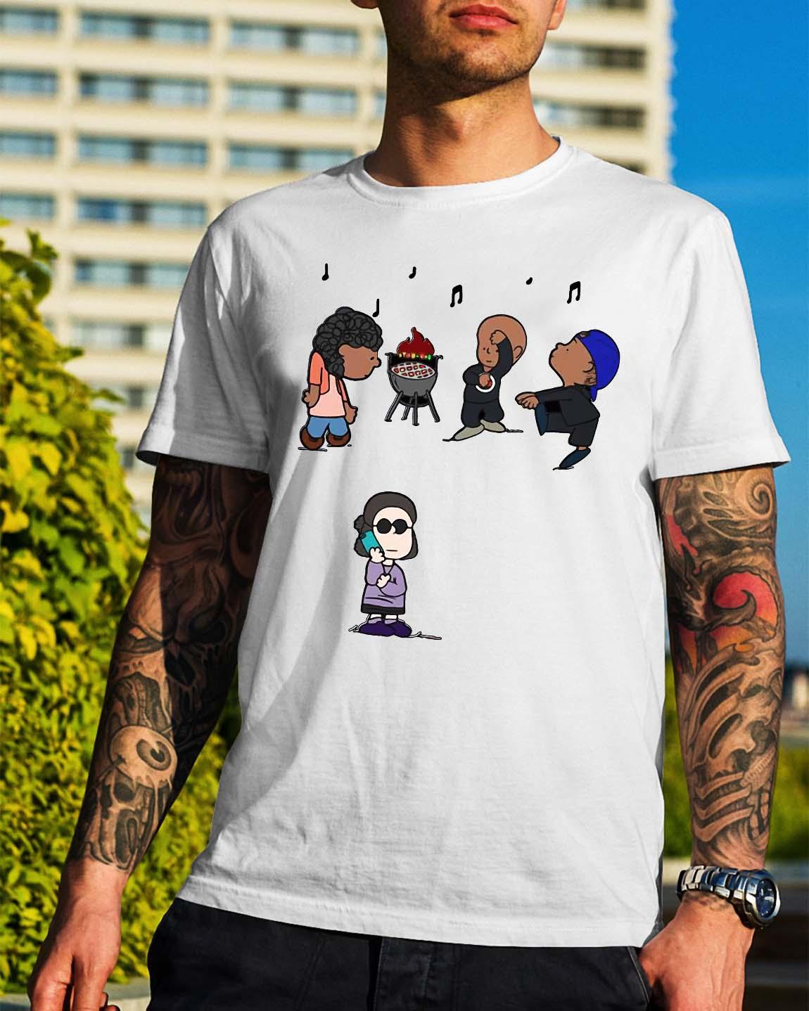 BBQ snitch gang shirt