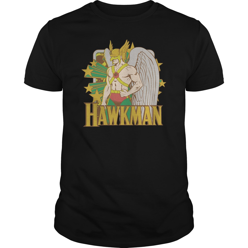 Dc Hawkman Stars big boys shirt