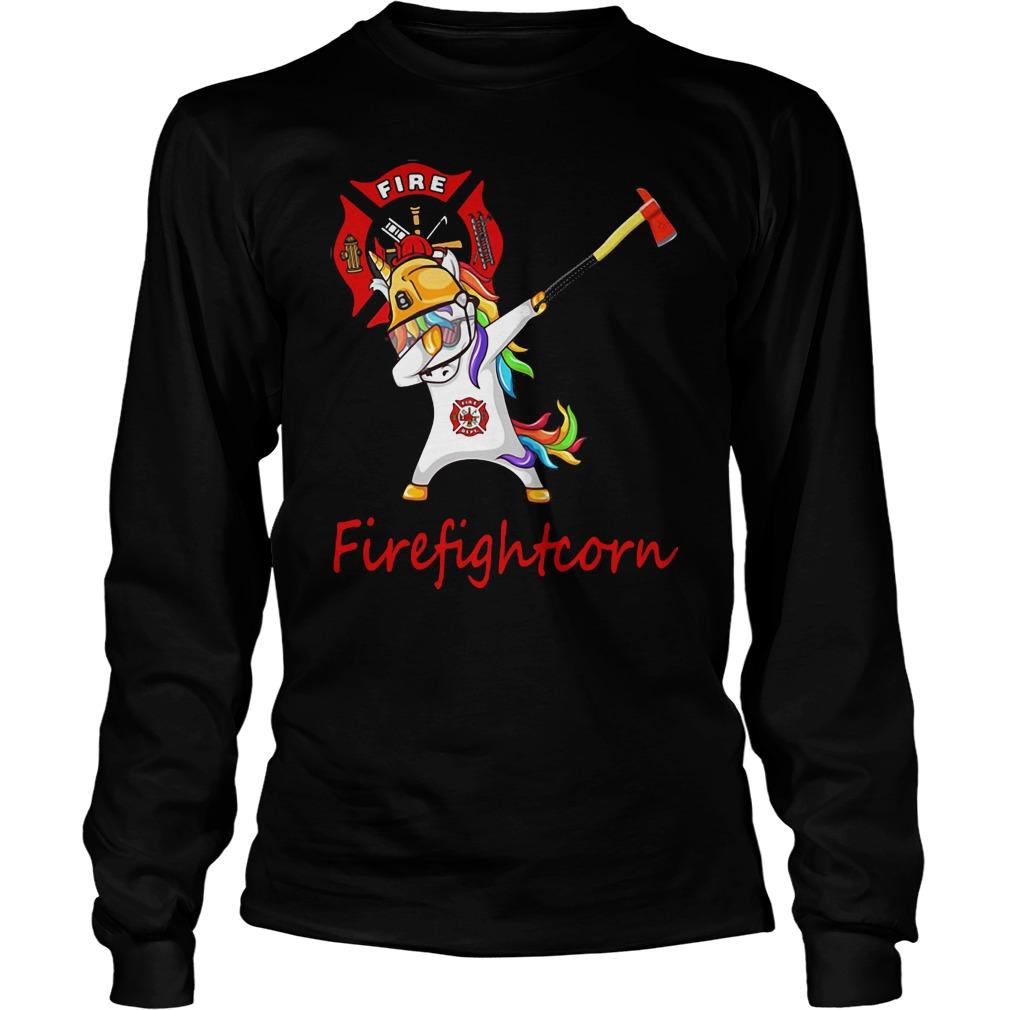 Unicorn Firefighter shirt
