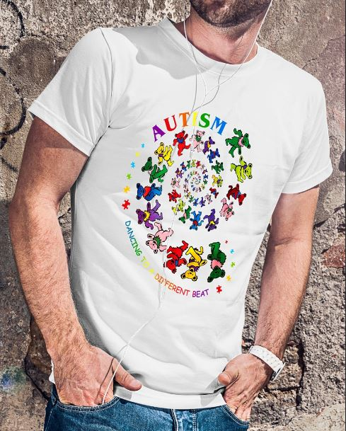 Autism bears dancing to a different beat shirt