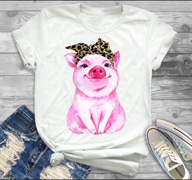 Cute Bandana pig shirt