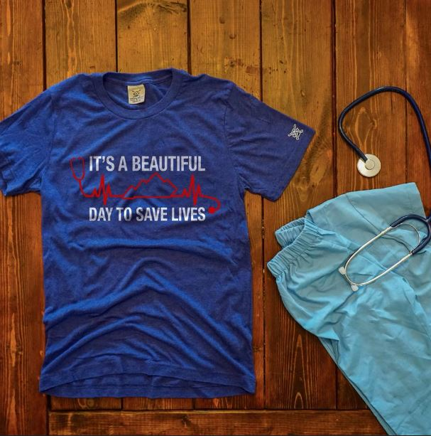 Doctor it's a beautiful day to save lives shirt