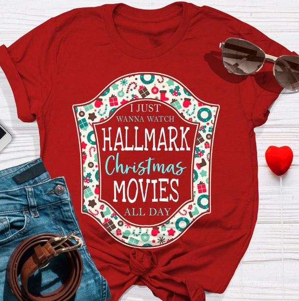 i just want to watch hallmark christmas movies all day sweat shirt - Watch Hallmark Christmas Movies