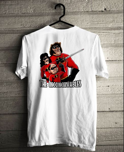 The Inconceivables t-shirt