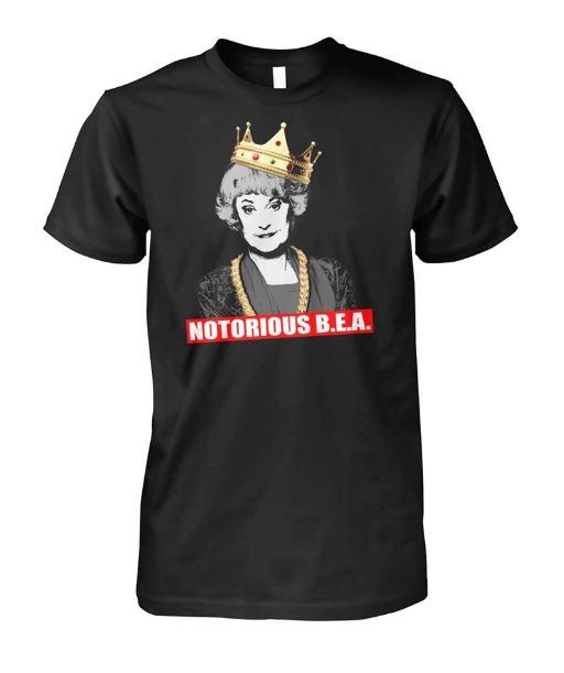 Official notorious Bea Arthur Golden Girls shirt