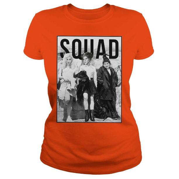 SQUAD goals Sanderson Sisters shirt