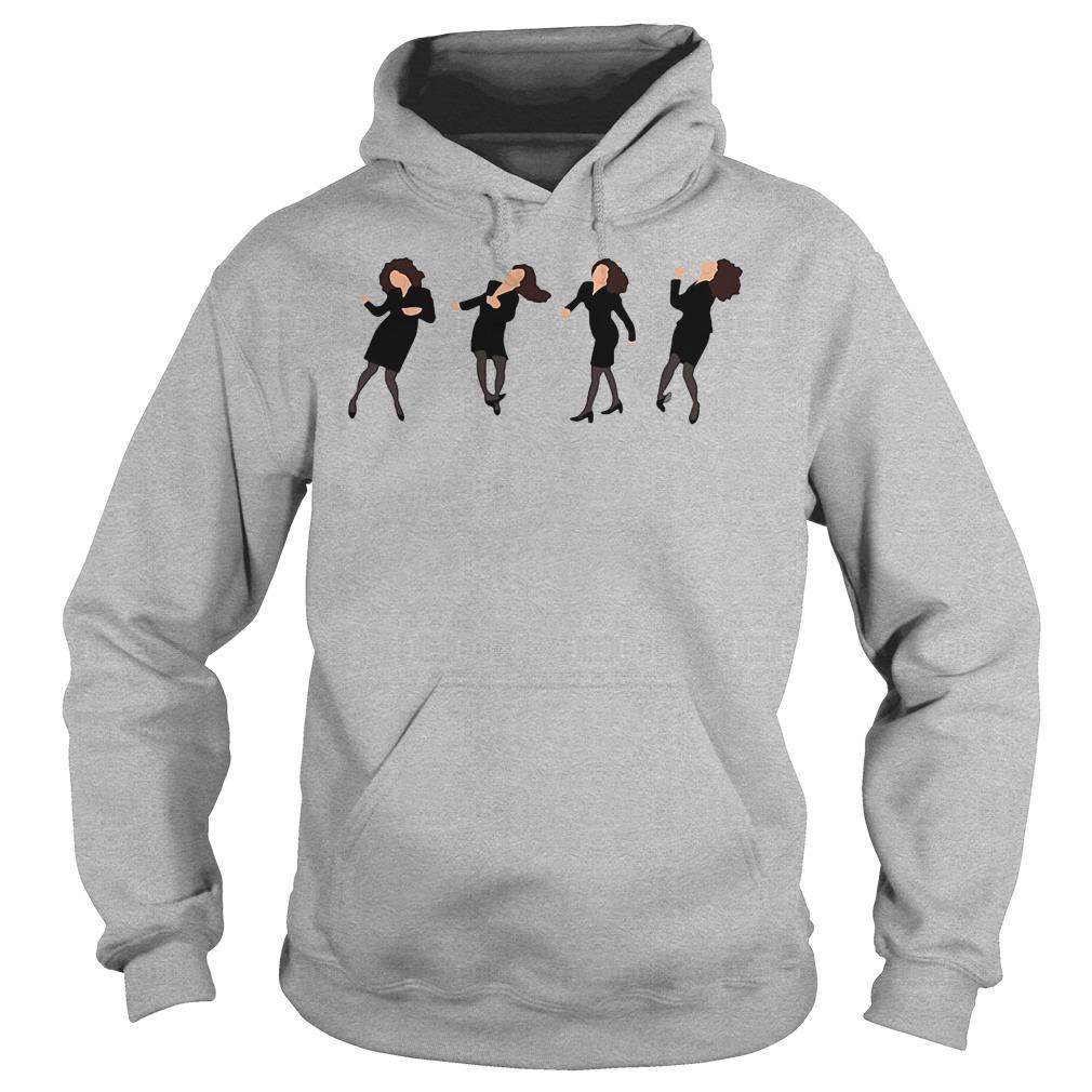 Elaine Dance The Little Kicks Seinfeld Shirt Ladies Shirt Hoodie