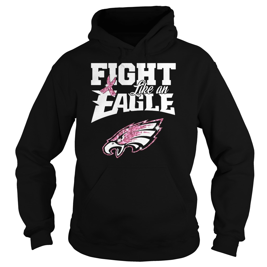 Breast cancer fight like a Philadelphia Eagles shirt