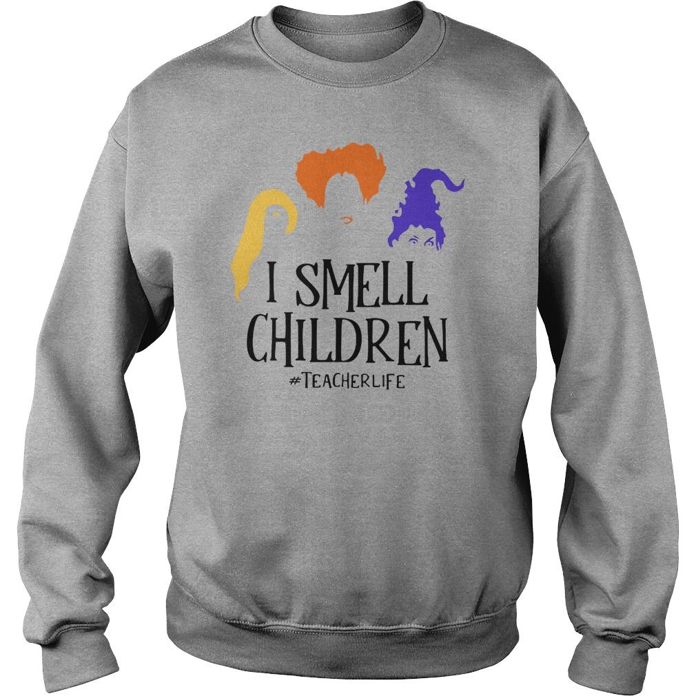 Sanderson Sisters I smell children teacher life shirt