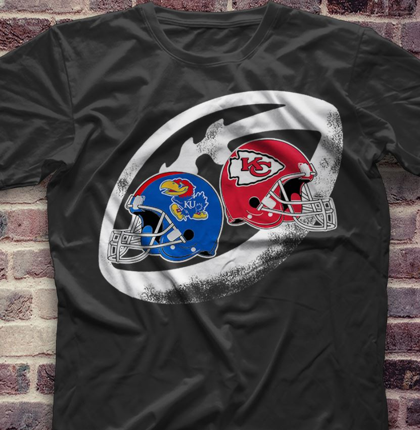 Chiefs vs Kansas Helmets shirt