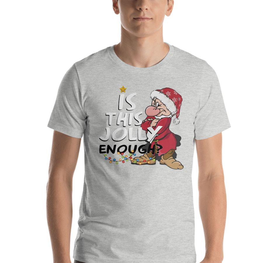 Grumpy is this jolly enough shirt