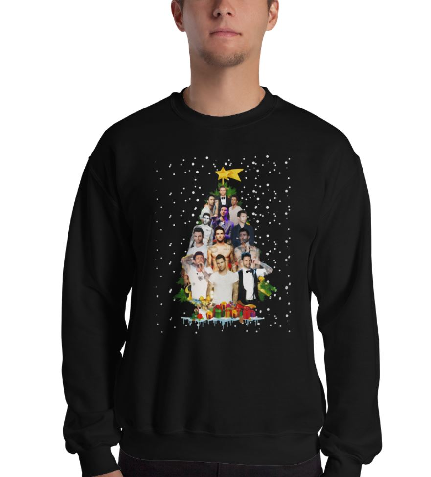 Adam Levine Christmas tree shirt