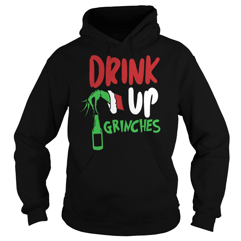 Bartender drink up Grinches Christmas shirt