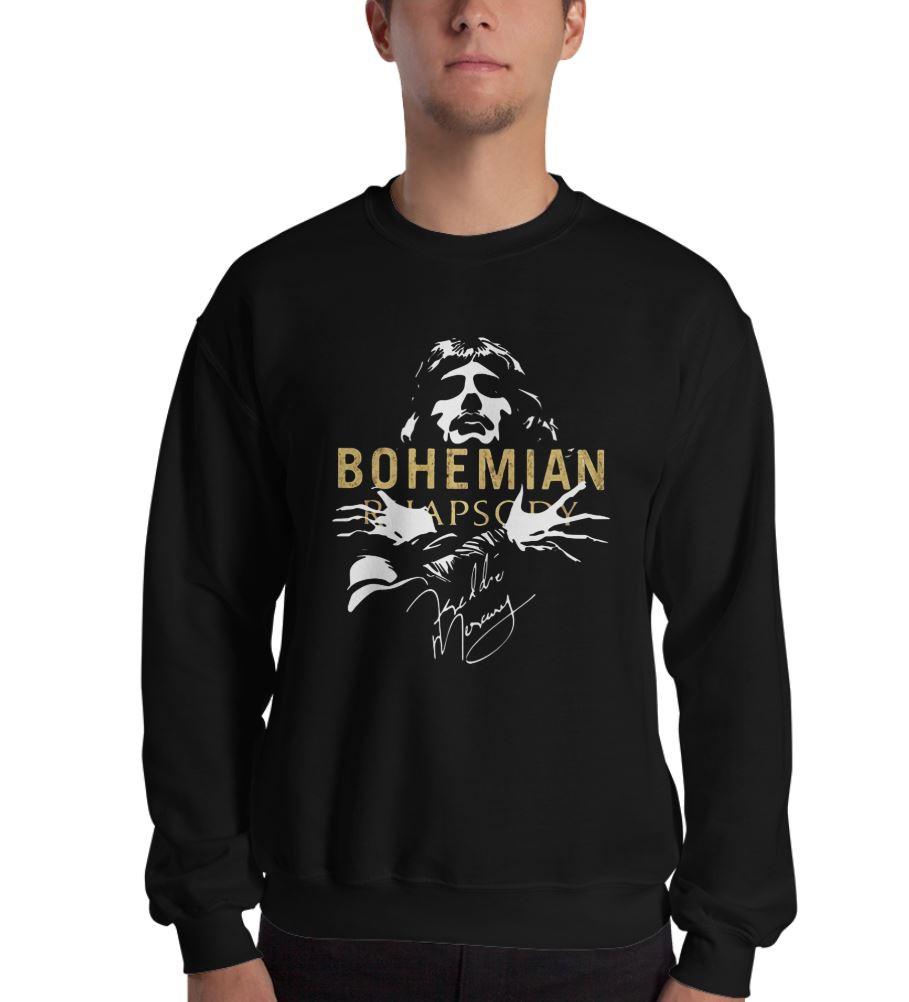 Bohemian Rhapsody Freddie Mercury sweat shirt