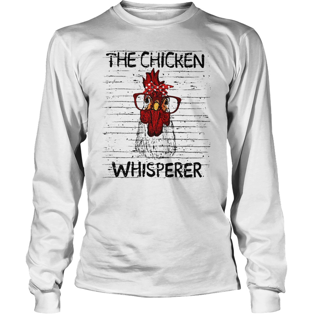 Chicken Whisperer wearing glasses shirt