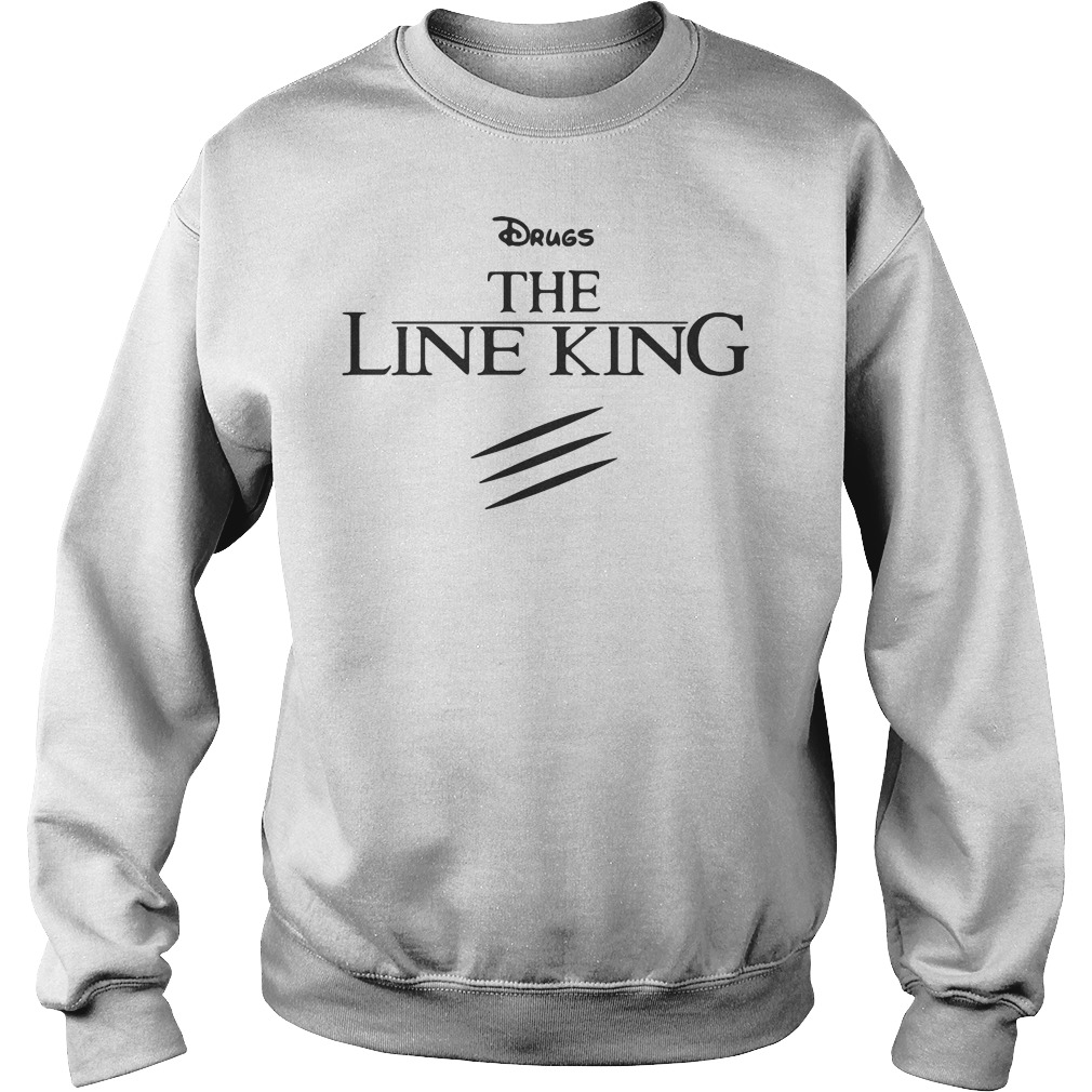 Drugs the line king Elton John shirt