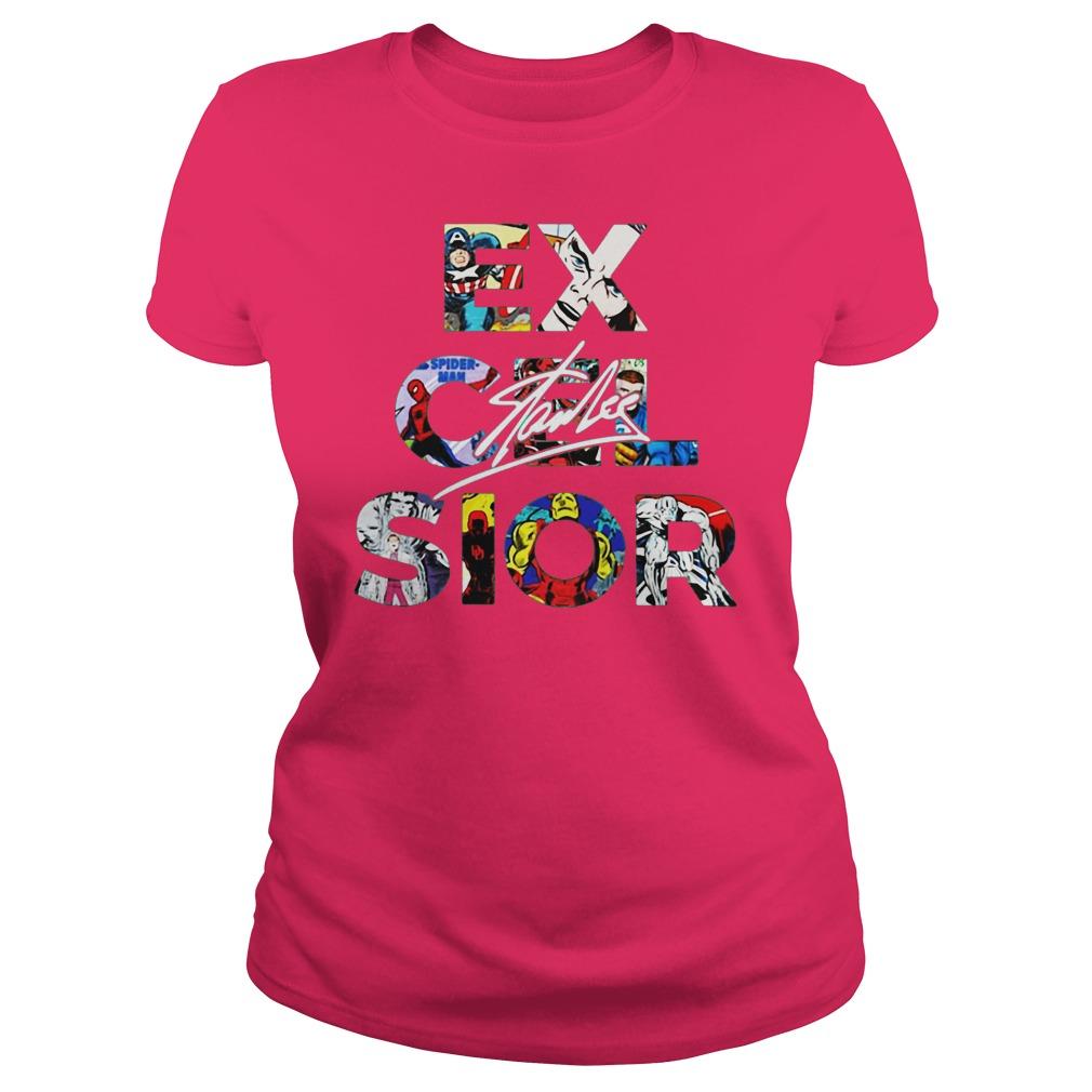 Excelsior Stan Lee shirt