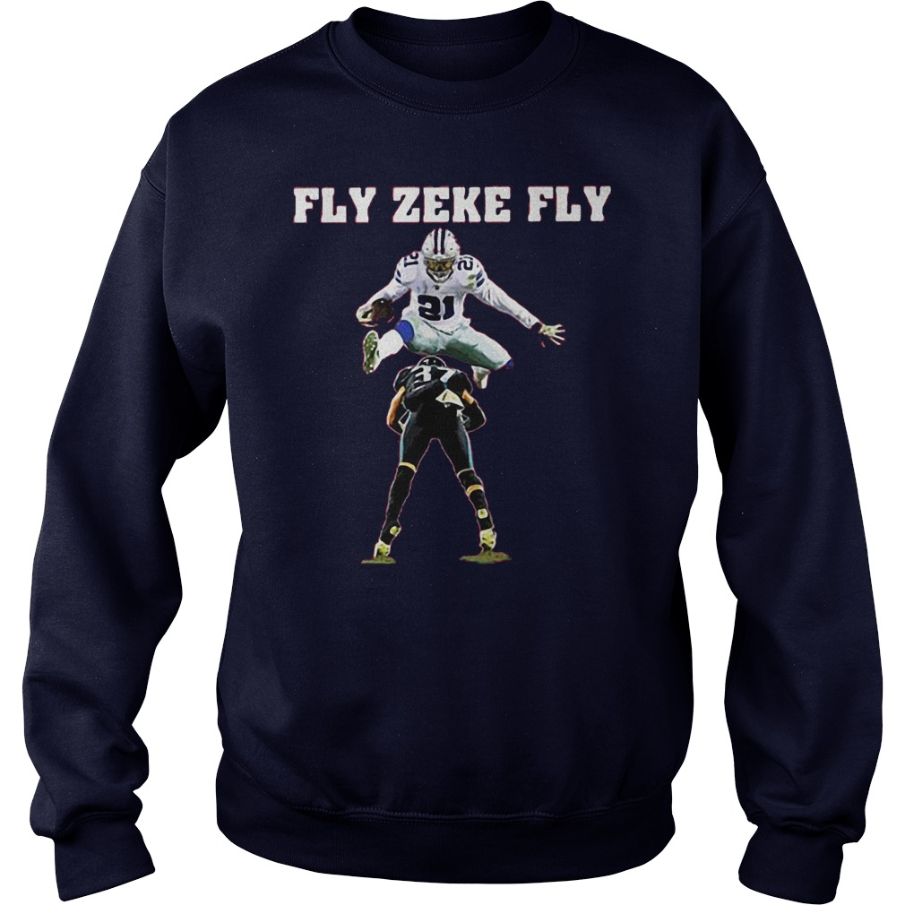 Ezekiel Elliott fly zeke fly Dallas Cowboys shirt
