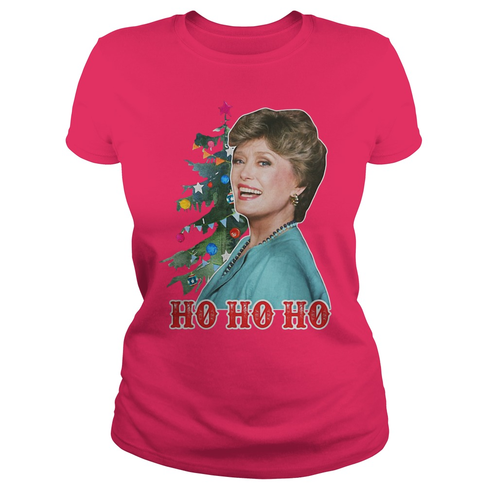 Golden girls Blanche Ho Ho Ho Christmas sweat shirt