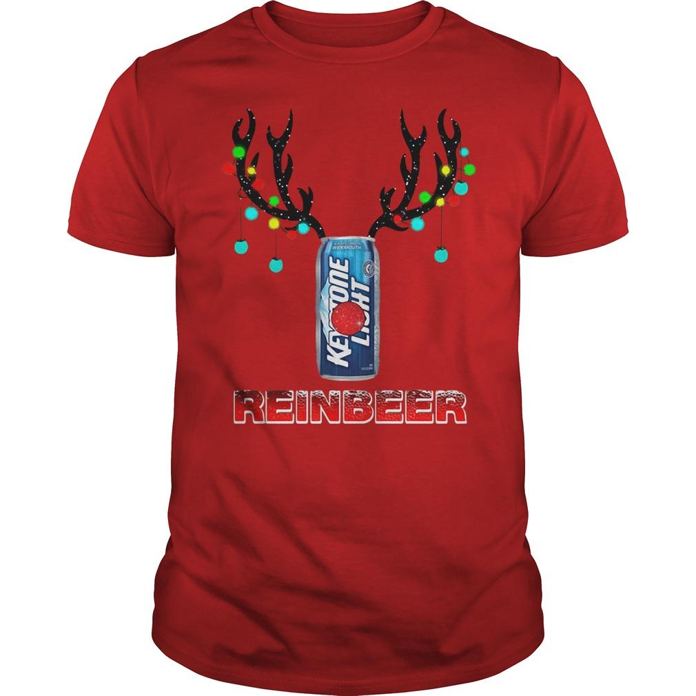 Keystone Light Reindeer Christmas shirt