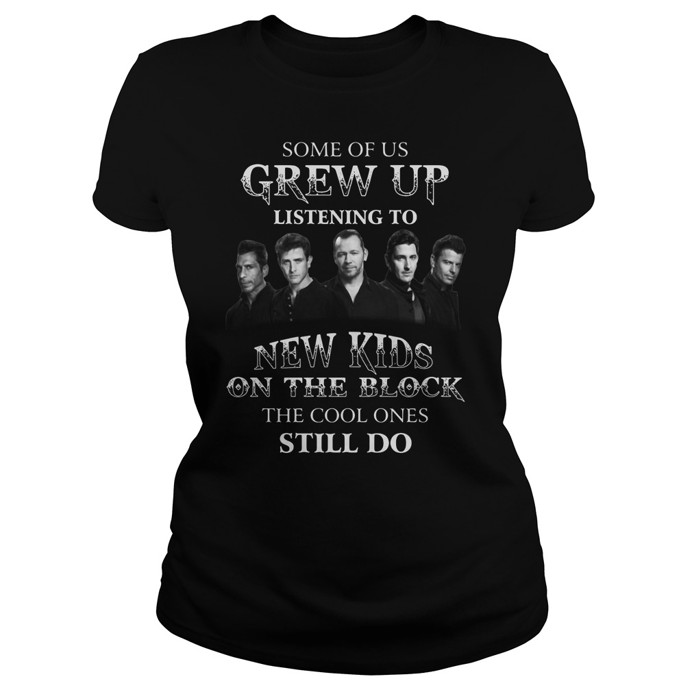 Some of us grew up listening to New Kids on the Block shirt