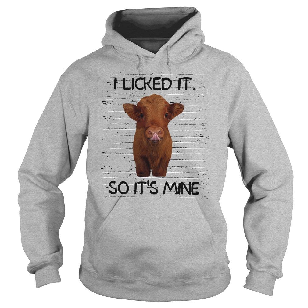 I licked it so it's mine pig shirt