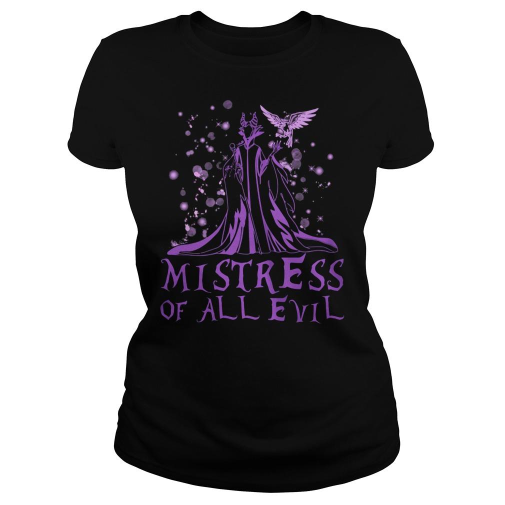 Maleficent mistress of all evil shirt