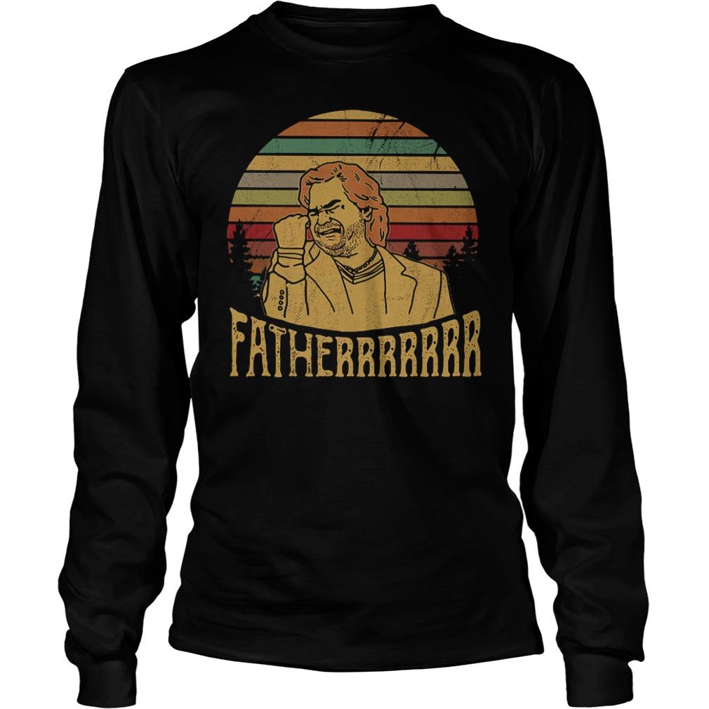 Matt Berry Fatherrrrr vintage sunset shirt