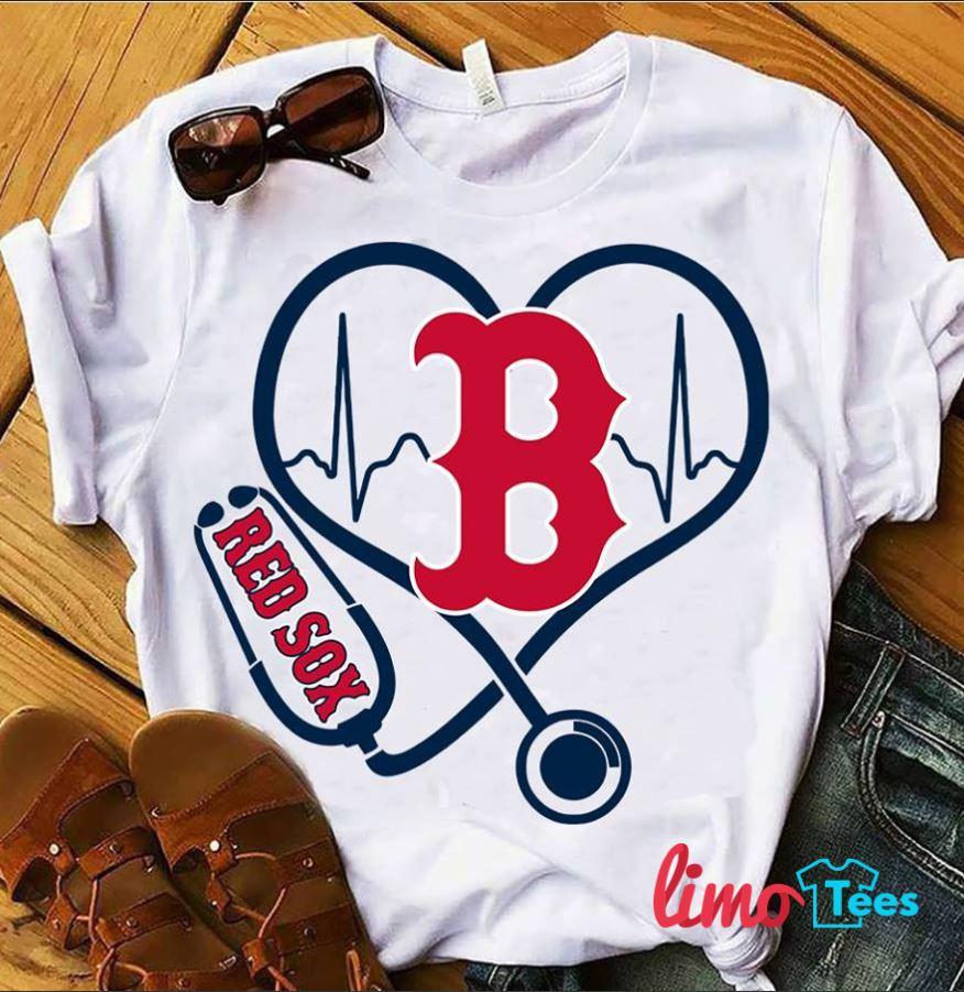 super popular 5b029 c3091 Ladies Boston Red Sox T Shirts - DREAMWORKS