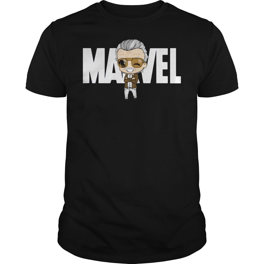 Stan Lee Marvel shirt