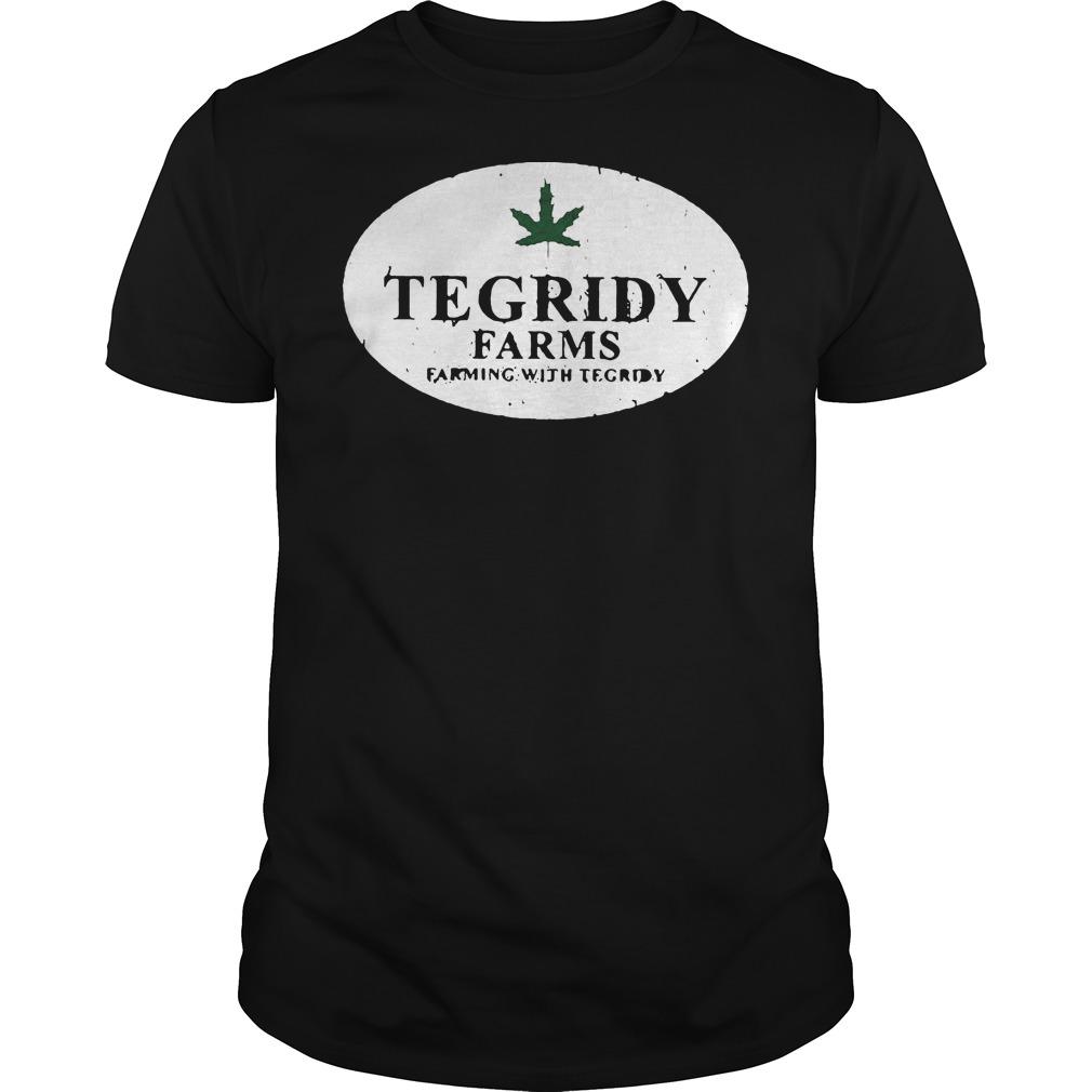 Tegridy farm farming with tegridy shirt