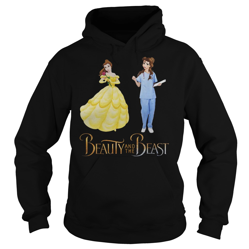 Bella Beauty and the Beast nurse shirt