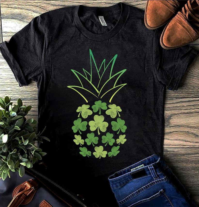 Pineapple st Patrick's day shirtPineapple st Patrick's day shirt
