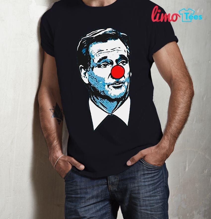 Sean Payton wear a Roger Goodell clown shirt