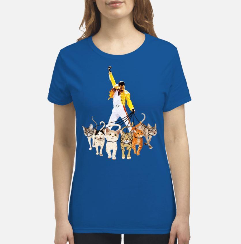 e7d00edbf3c20 Freddie Mercury leds his cats shirt. Ladies shirt