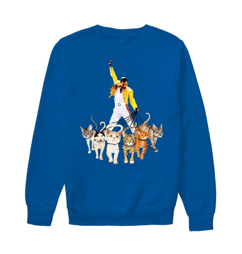 a8e3c5ebfd484 Freddie Mercury leds his cats shirt