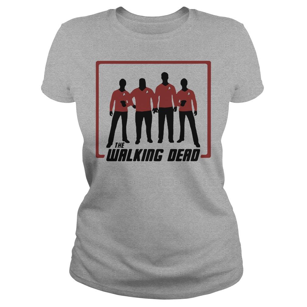 The working dead Star Trek shirt