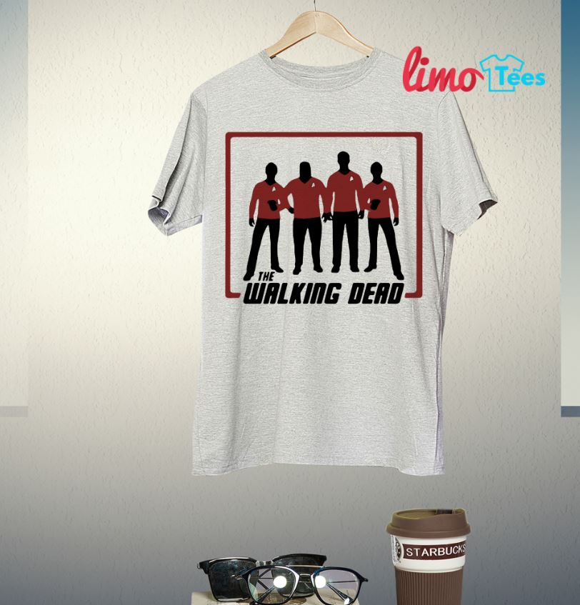 The working dead Star Trek shirt